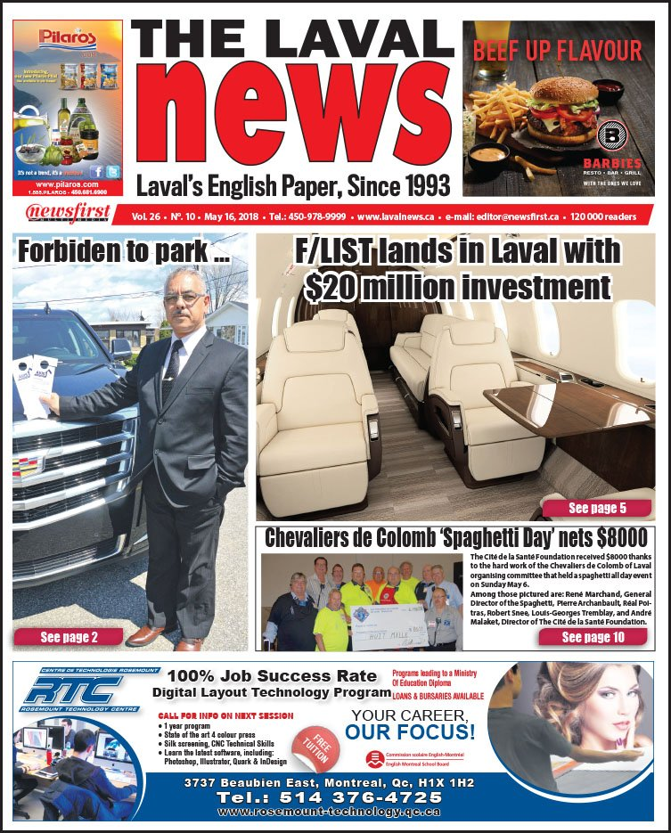 Front page image of The Laval News Volume 10