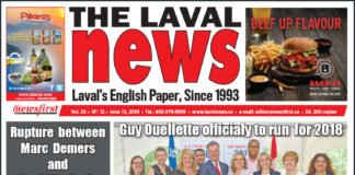 Front page image of The Laval News Volume 26 Number 12