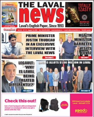 Front page image of The Laval News Volume 26 Number 15