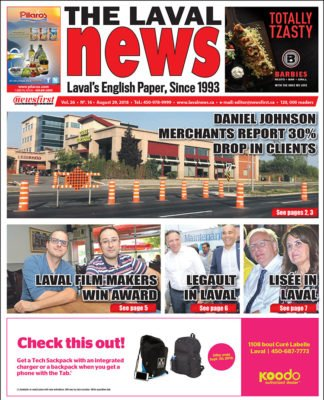 Front page image of The Laval News Volume 26 Number 16