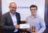Laval's William Émard receives $4,000 bursary for academic achievement