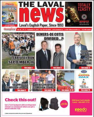 Front page image of The Laval News Volume 26 Number 17