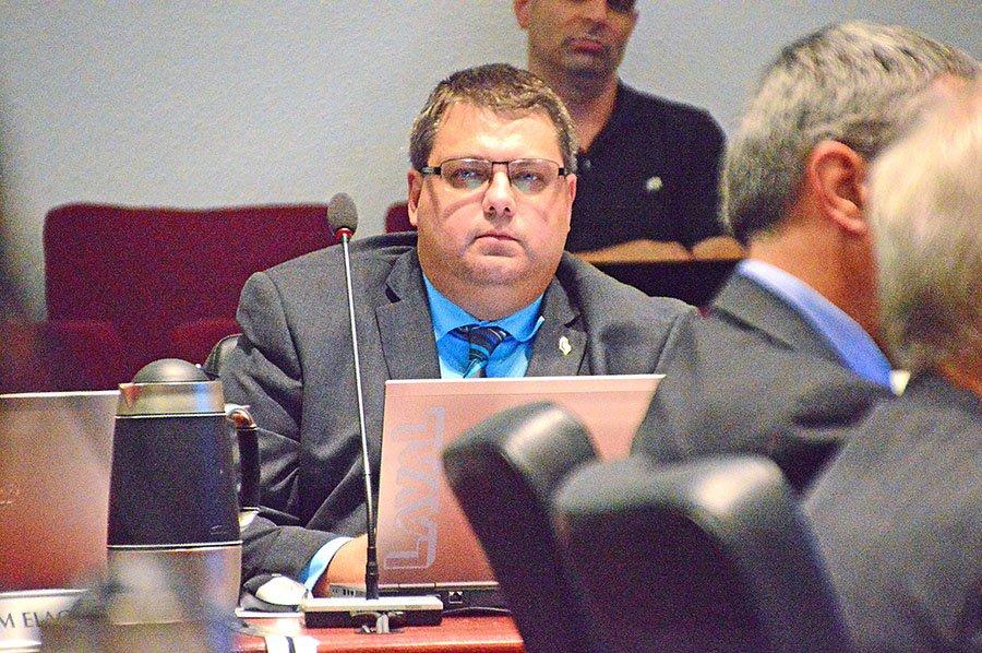 Saint-François Councillor, Éric Morasse