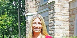 Sir Wilfrid Laurier School Board chairwoman Jennifer Maccarone