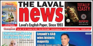 Front page image of The Laval News Volume 26 Number 19
