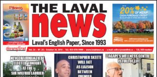 Front page image of The Laval News Volume 26 Number 20