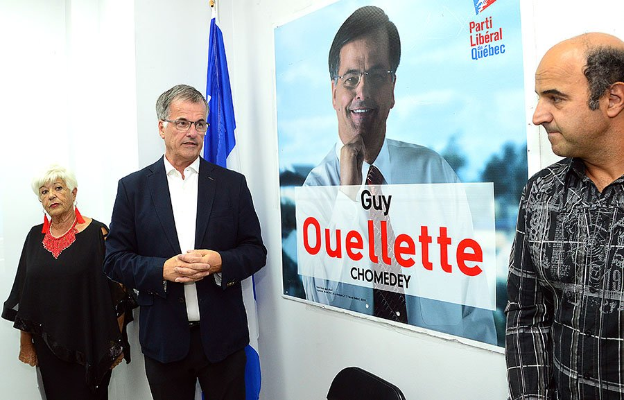 Incumbent Chomedey MNA Guy Ouellette re-elected
