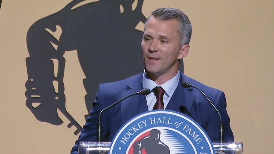 Martin St. Louis inducted into Hockey Hall of Fame