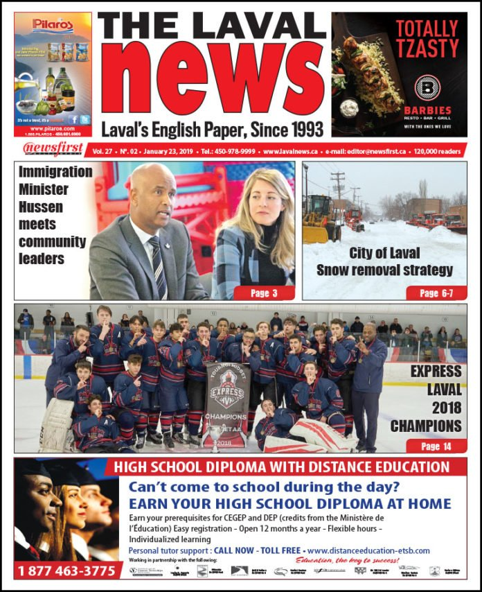 Front page image of The Laval News Volume 27 Number 02