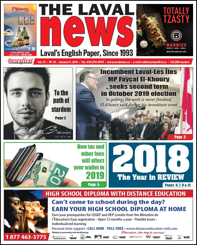 Front page image of The Laval News Volume 27 Number 01