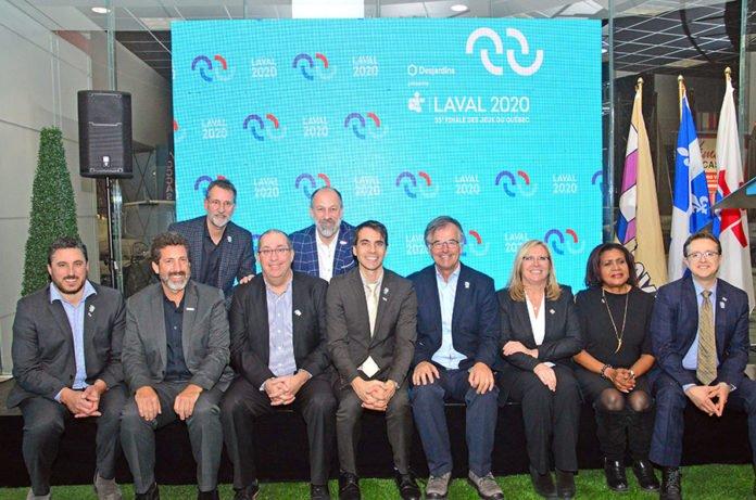 Organizers unveil Jeux du Québec – Laval 2020 logo and sponsors