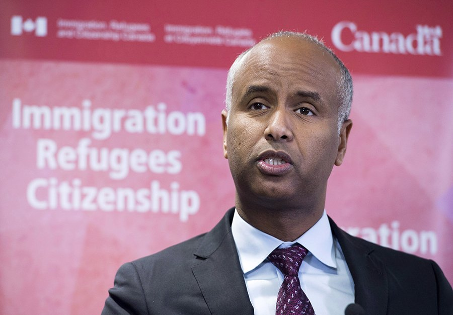 Immigration Minister Ahmed Hussen defends Liberal government's record