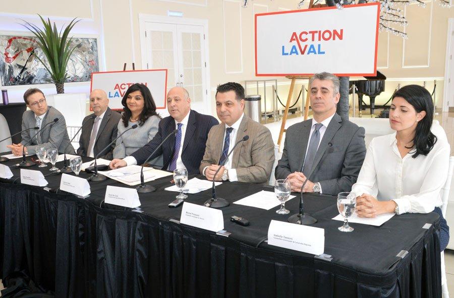 Five ex-Mouvement Lavallois councillors join Action Laval caucus