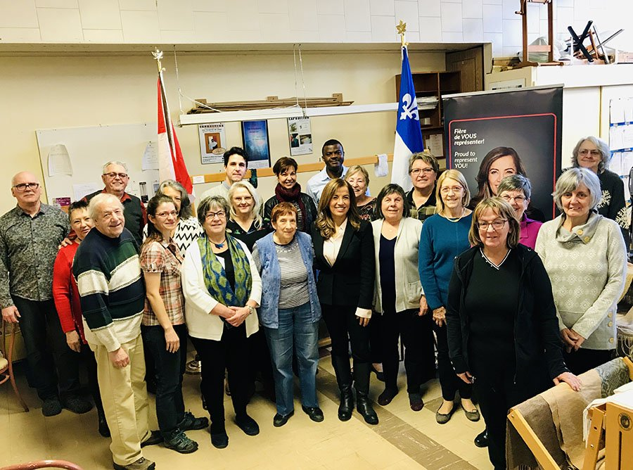 Eva Nassif, Member of Parliament for Vimy, announced $74,319 in New Horizon for Seniors program funding to help support projects in Vimy/Laval