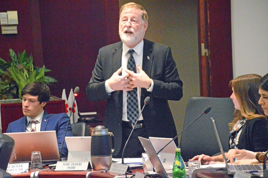 Council hears complaints about city's slow response to snow and ice