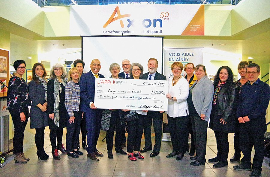 L'Appui Laval receives $1.476 million to help local caregivers
