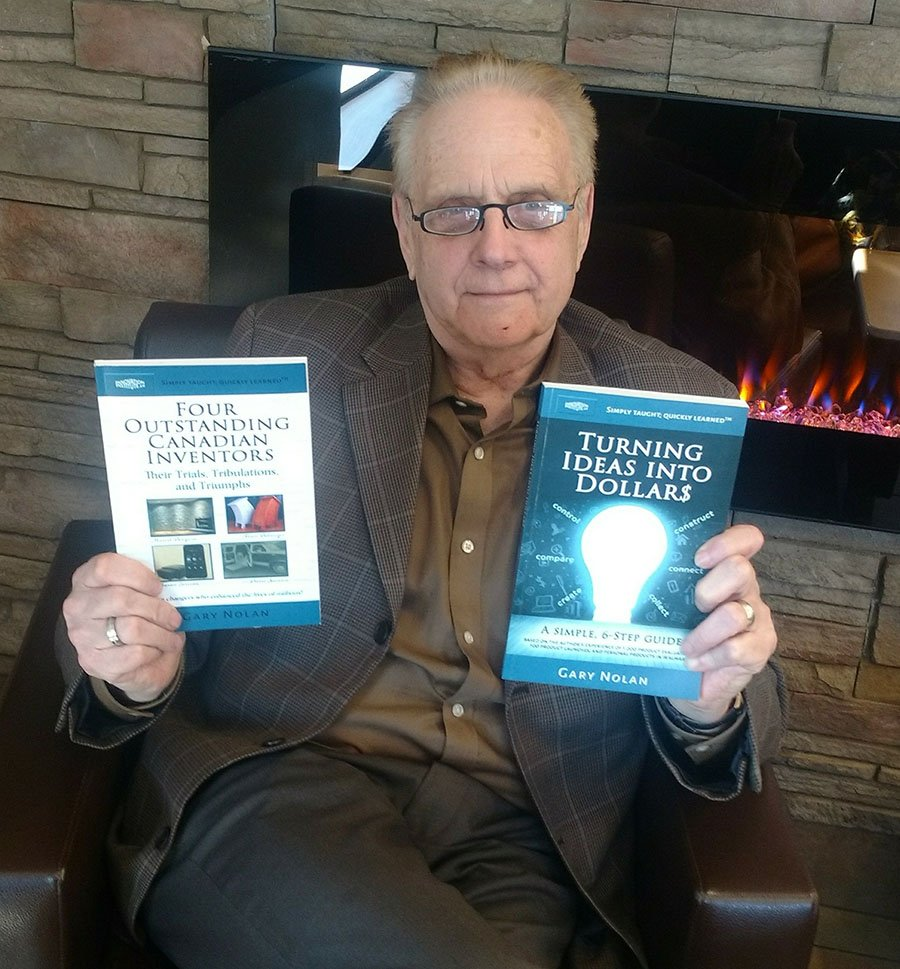 """""""When you hit a wall, give me a call,"""" says inventor and author Gary Nolan"""