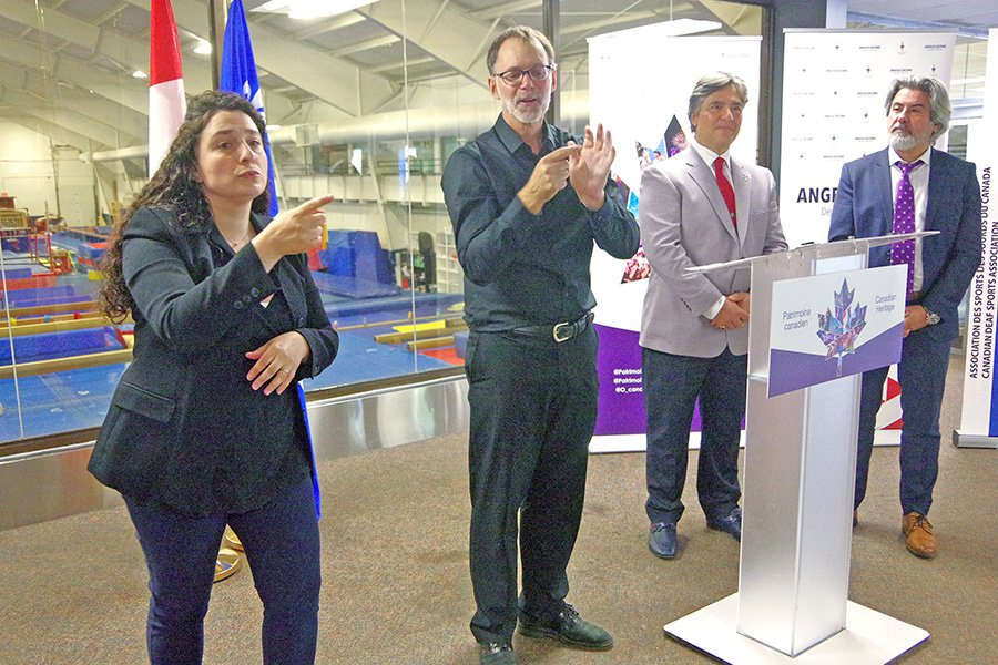 Ottawa provides support to Laval-based Canadian Deaf Sports Association
