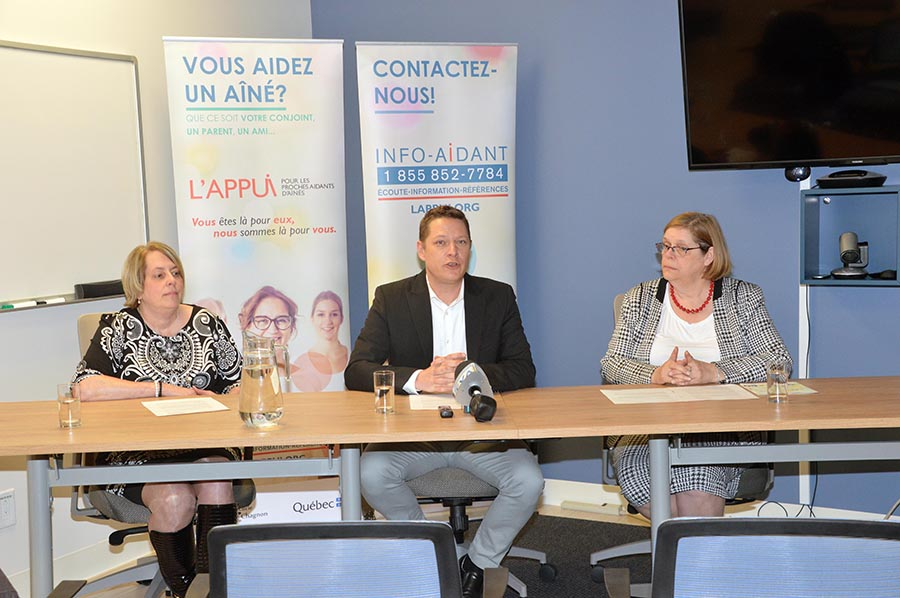 L'Appui invests record amounts in caregivers across Quebec