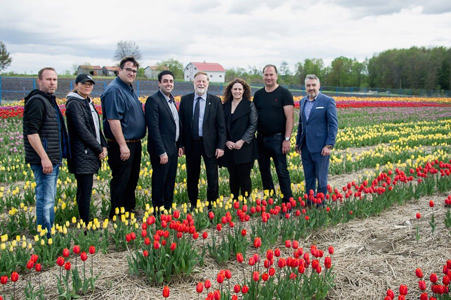 Tulip Festival time in Laval