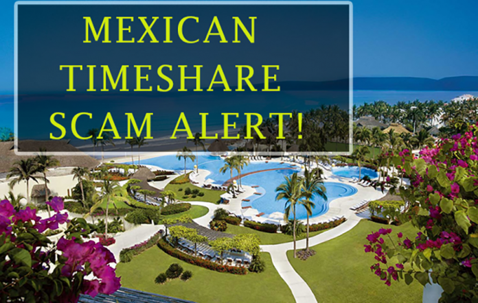 Beware of new 'Mexican Timeshare Scam'