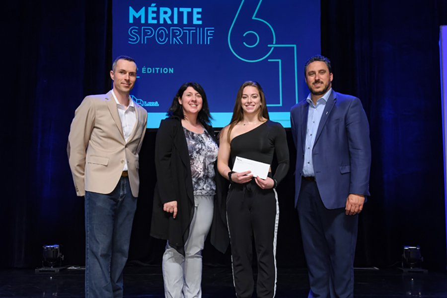 Laval honours its best young athletes at 'Mérite sportif'