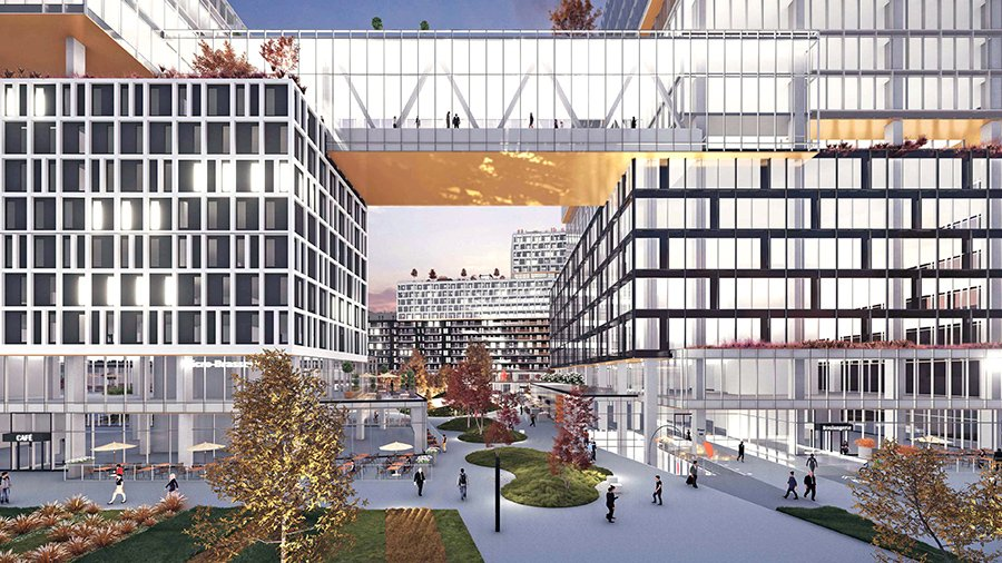 Work begins on Espace Montmorency, designed for an intergenerational clientèle