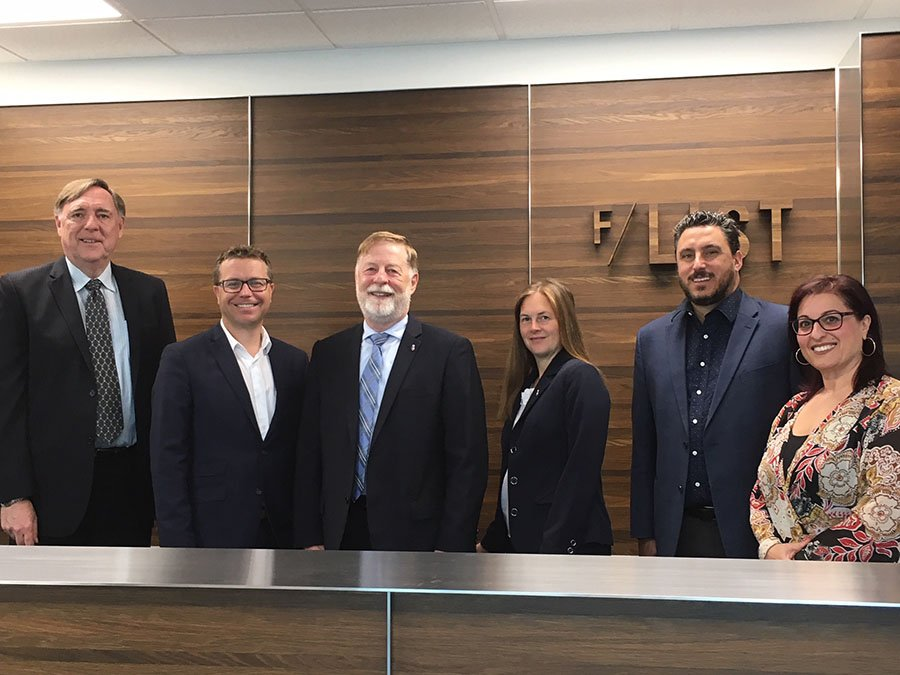 Laval mayor Marc Demers visits F/LIST