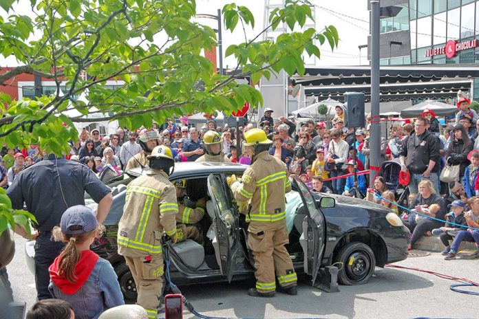Thousands attend City of Laval's annual Firemen's Festival