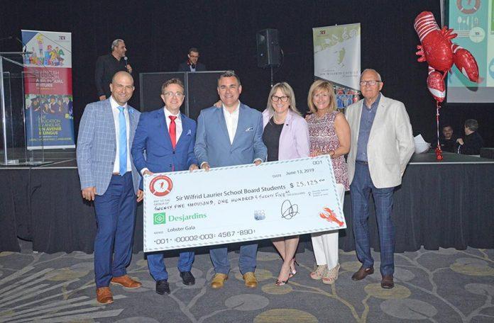Laurier Foundation 'Lobster Gala' nets $25,125 for school board