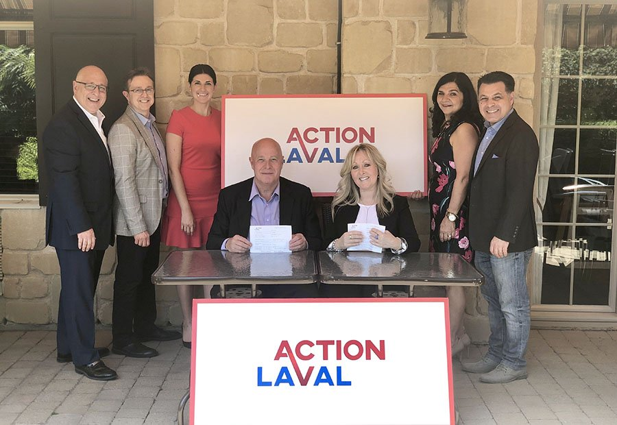 TWO FORMER OFFICERS OF THE OFFICIAL OPPOSITION JOIN ACTION LAVAL