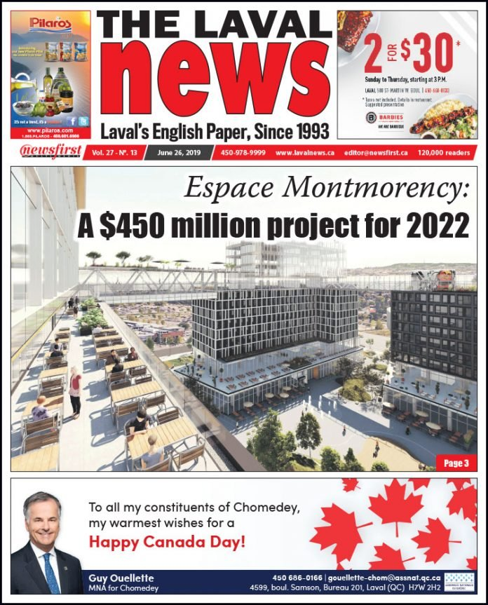 Front page of The Laval News Volume 27, Number 13