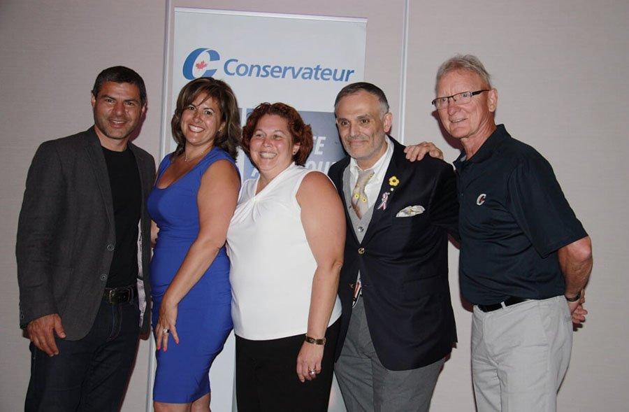 Marc-Aurèle-Fortin Conservative hopeful garners strong support