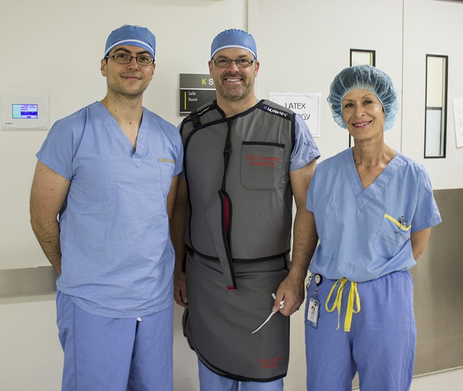 Quebec neurosurgery first at the Jewish General Hospital