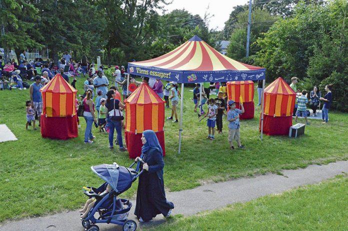 Fête de quartier de Chomedey takes place Sat. Aug. 24