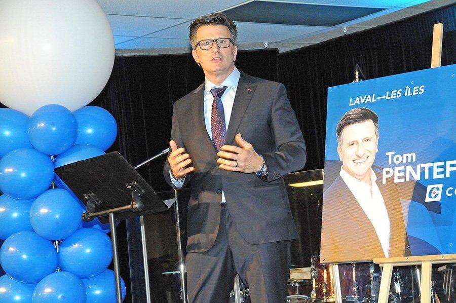 Laval-Les Îles Conservative Tom Pentefountas launches campaign