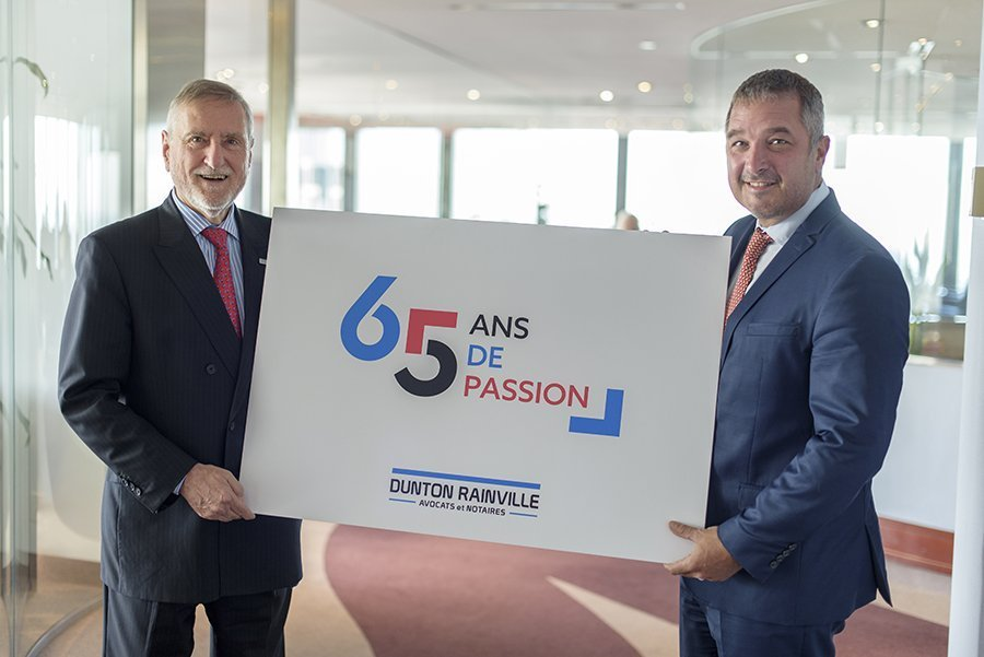 Dunton Rainville celebrates 65 years of passion!