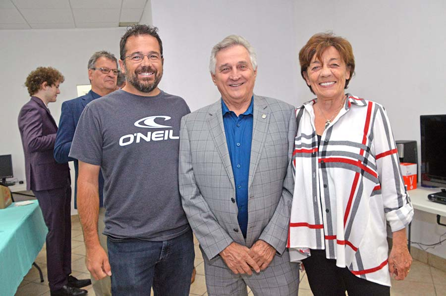 Marc-Aurèle-Fortin Liberals officially open campaign HQ