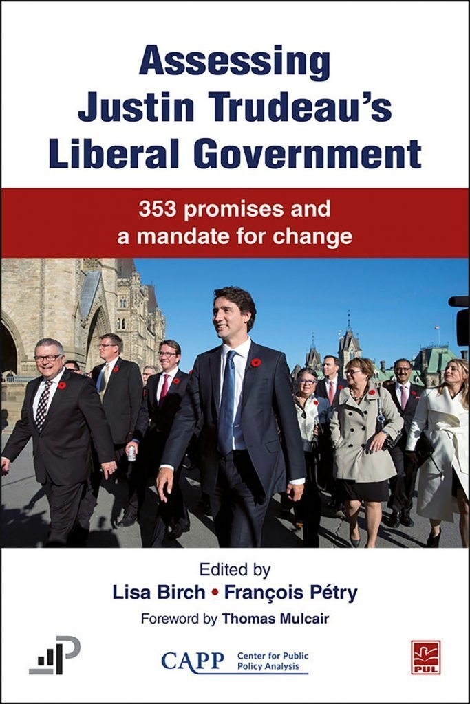 Trudeau government's 353 pre-election promises assessed in new book