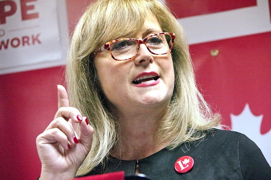 Vimy Liberal candidate Annie Koutrakis launches election bid
