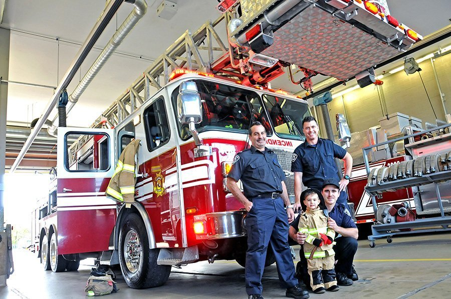 Laval's firehalls offered safety lessons during 'open house'