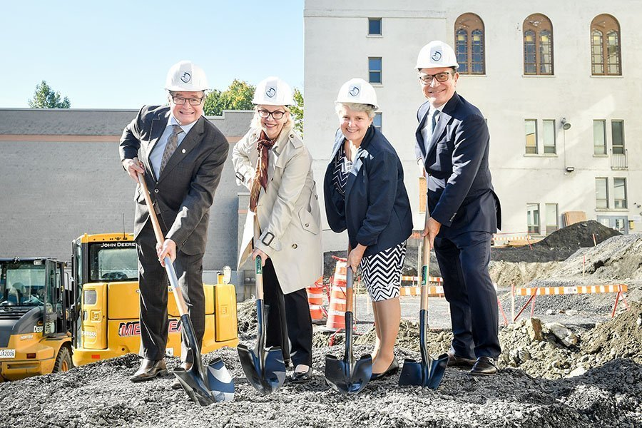 The Sacred Heart School of Montreal Breaks Ground on New Auditorium