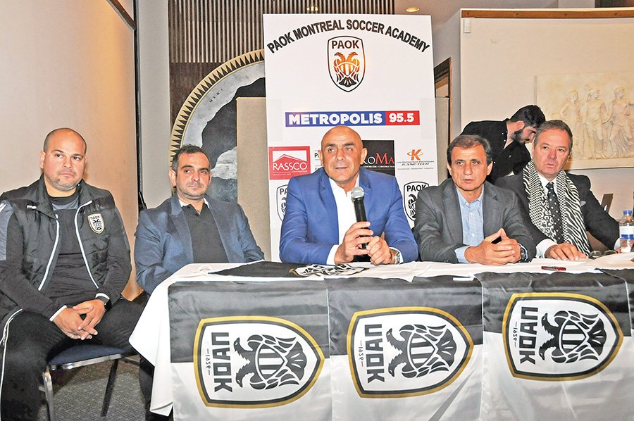 PAOK Football Club to launch local soccer academies