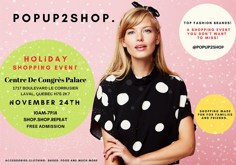 """""""The ultimate holiday shopping experience, an event not to be missed!"""""""