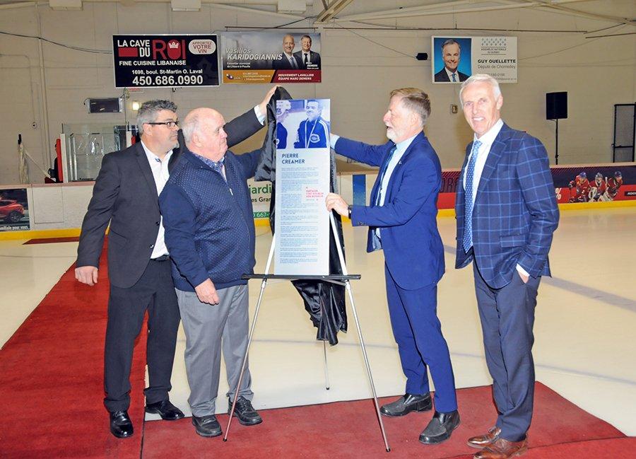 Chomedey Arena renamed in honor of Pierre Creamer