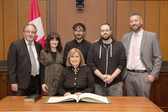Vimy MP Annie Koutrakis sworn in