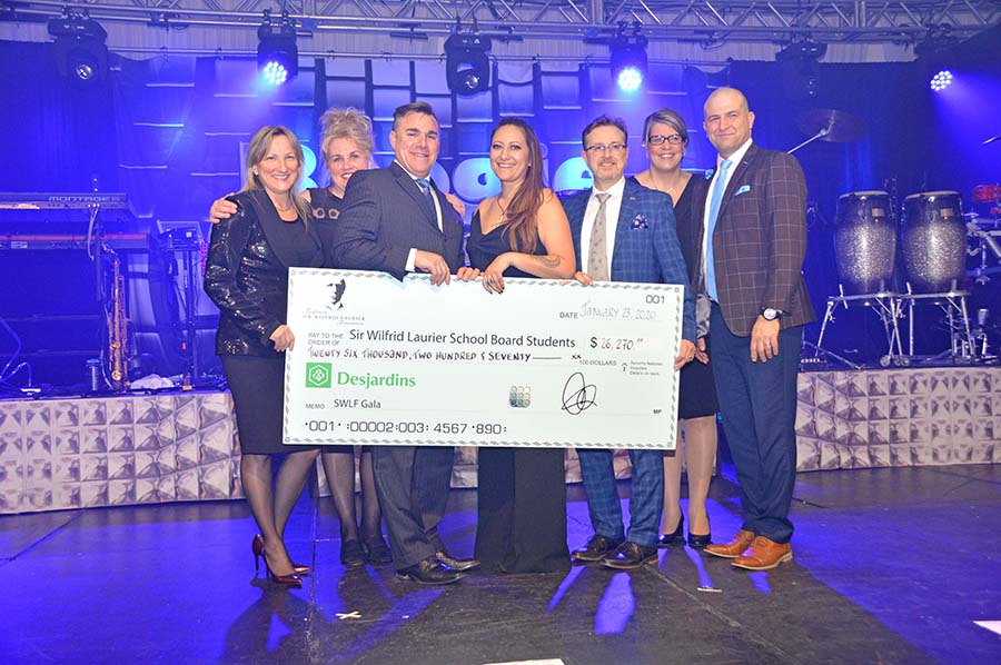 Laurier Foundation's January Gala raises $26,270