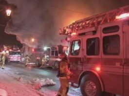 Laval restaurant ravaged by fire