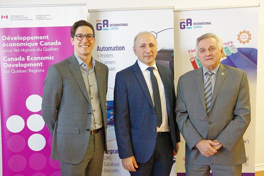 Laval-based firm GA International awarded federal funding