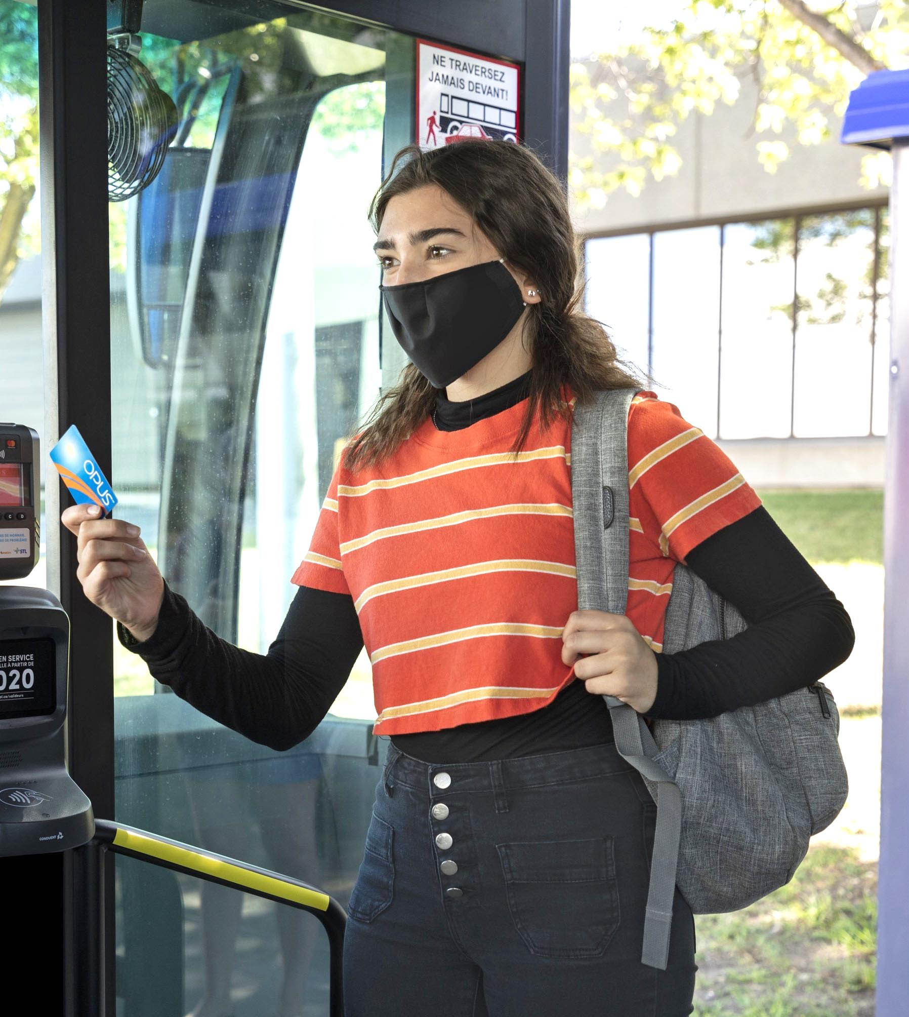 Front-door boarding and fare payments spell gradual return to normal at the STL